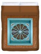 Above The Door Duvet Cover
