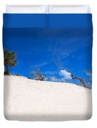 Above The Dunes Duvet Cover