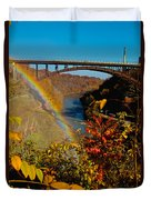 Above The Falls Duvet Cover