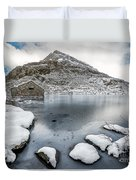 Above The Ice Duvet Cover
