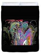 Abracadabra Abstract Duvet Cover