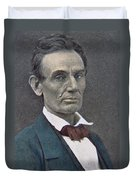 Abraham Lincoln Duvet Cover by American Photographer