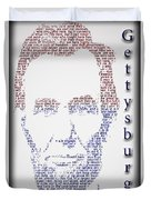 Abraham Lincoln  Duvet Cover by Gary Keesler