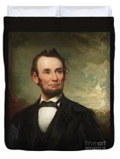 Abraham Lincoln  Duvet Cover by George Henry Story