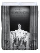 Abraham Lincoln Memorial Duvet Cover