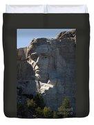 Abraham Lincoln Mount Rushmore National Monument Duvet Cover