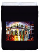 Absinthe House New Orleans Duvet Cover