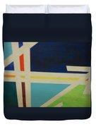 Abstracat Exhibit Duvet Cover