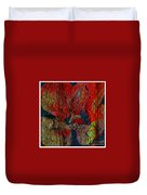 Abstract - Emotion - Annoyance Duvet Cover