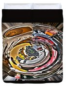 Abstract - Vehicle Recycling Duvet Cover