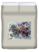 Abstract 00111 Duvet Cover