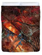 Abstract 0358 - Marucii Duvet Cover