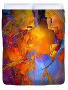 Abstract 0373 - Marucii Duvet Cover