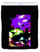 Abstract 104 Duvet Cover