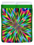 Abstract 158 Duvet Cover