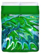 Abstract 16 Duvet Cover by Kenny Francis