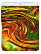 Abstract 17 Duvet Cover by Kenny Francis