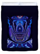 Abstract 174 Duvet Cover by J D Owen