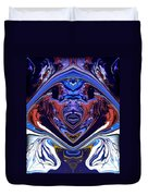 Abstract 179 Duvet Cover by J D Owen