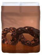 Abstract 331 A 3d Copper Sculpture Duvet Cover