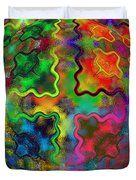 Abstract 42 Duvet Cover