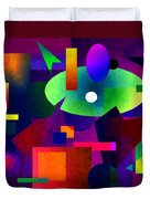 Abstract 74 Duvet Cover