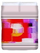 Abstract 892 Duvet Cover