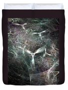 Abstract Angels White Portrait Duvet Cover