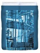 Abstract Architecture Duvet Cover