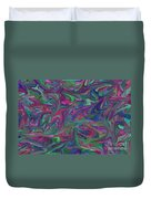 Juncture - Abstract Art Duvet Cover