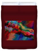 Intrigued - Abstract Art  Duvet Cover