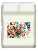 Abstract Art Focused Inward Towards The Divine 4 Duvet Cover