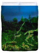 Abstract Art Nature Scenery Duvet Cover