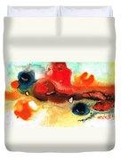 Abstract Art - No Limits - By Sharon Cummings Duvet Cover