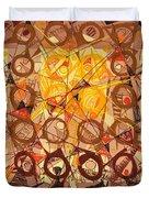 Abstract Art Sixty-six Duvet Cover
