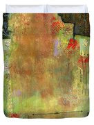 Abstract Art Where The Love Is Duvet Cover