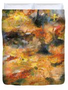 Abstract Autumn 1 Duvet Cover