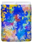 Abstract Series B10 Duvet Cover