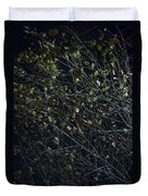 Abstract Background Of Tree At Night Duvet Cover
