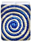 Abstract Blue Swirl Duvet Cover