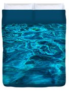 Abstract Blue Water Duvet Cover