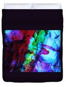 Abstract Bold Colors Duvet Cover by Andrea Anderegg