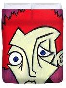 Abstract Boy Duvet Cover