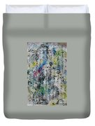Abstract Calligraphy 00 Duvet Cover