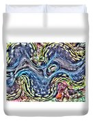Fluted Giant Clam Duvet Cover