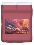 Abstract Clouds Duvet Cover