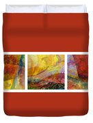 Abstract Collage No. 1 Duvet Cover