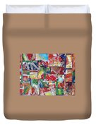 Abstract Collages 1 Duvet Cover