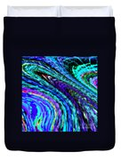 Abstract Color Flow Duvet Cover
