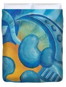 Abstract Color Study Duvet Cover